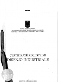 Design Registration Albania