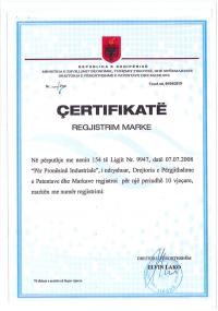 Legal representative for trademark in Albania