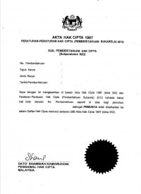 Copyright Registration Malaysia