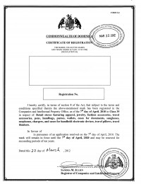Change of trademark owner Dominica