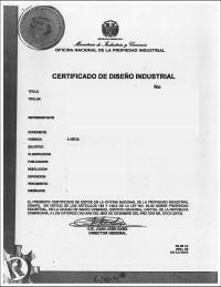 Design Registration Dominican Republic