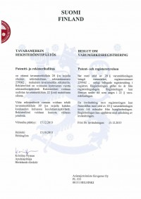 Change of trademark owner Finland