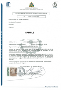 Change of trademark owner Honduras