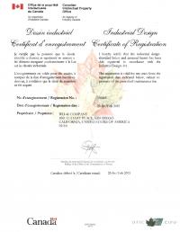 Design Registration Canada