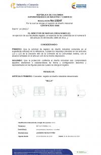 Design Registration Colombia