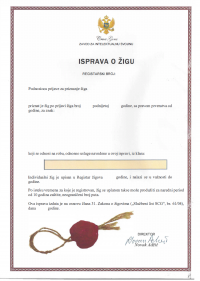 Opposition against a trademark in Montenegro