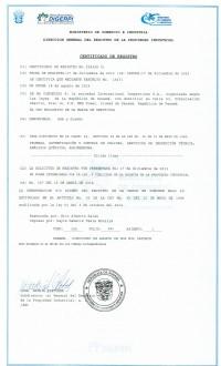 Legal representative for trademark in Panama
