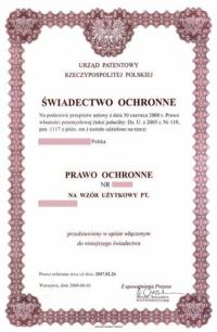 Gebrauchsmuster Anmeldung Polen