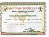 Legal representative for trademark in Sudan