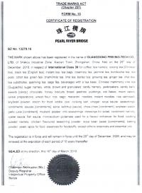 Trademark Renewal Belize