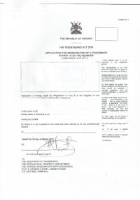 Trademark Registration Uganda