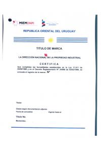 Trademark Renewal Uruguay