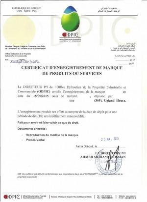 Change of trademark owner Djibouti