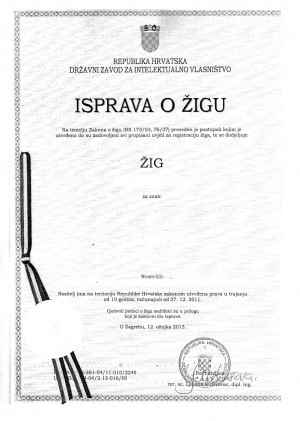 Legal representative for trademark in Croatia