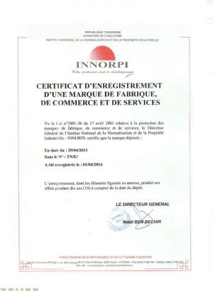 Change of trademark owner Tunisia
