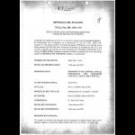 Gebrauchsmuster Anmeldung Ecuador