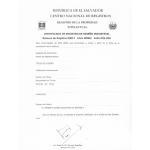 Renewal of Design Patent in El Salvador