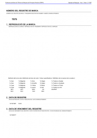 Legal representative for trademark in Andorra