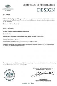 Registration of Design Patent in Australia