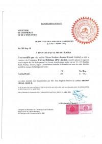 Trademark Registration Haiti