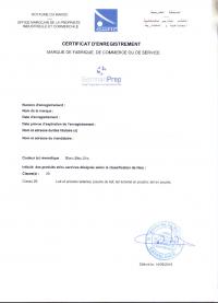 Legal representative for trademark in Morocco