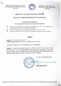 Trademark Renewal OAPI