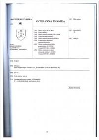 Change of trademark owner Slovakia