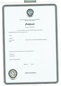 Design Registration Namibia