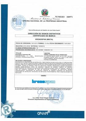 Change of trademark owner Dominican Republic