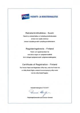 Gebrauchsmuster Anmeldung Finnland
