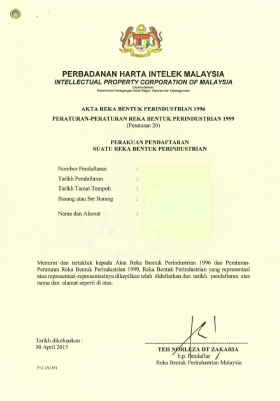 Design Registration Malaysia