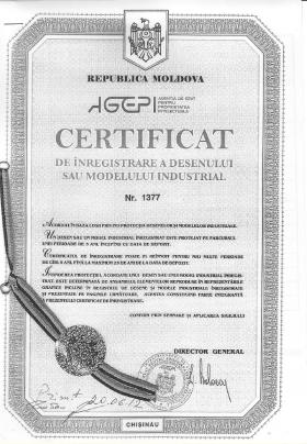 Design Registration Moldova