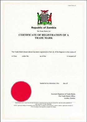 Change of trademark owner Zambia