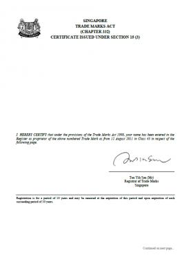 Design Registration Singapore