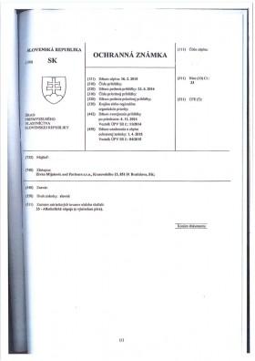 Legal representative for trademark in Slovakia