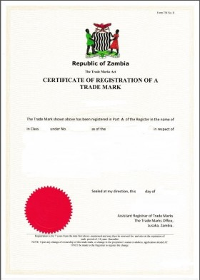 Trademark Registration Zambia